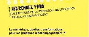 Le SU2IP était présent ce 4 avril dernier pour la 7e édition du Rendez-vous des acteurs de la formation, de l'insertion et de l'accompagnement au Campus Lettres de Nancy, en simultané avec Strasbourg et Reims. Pour débattre sur la thématique Le numérique, quelles transformations pour les pratiques d'accompagnement ?, trois intervenants : Nathalie ISSENMANN, Sous-Directrice DFOIP en charge du SU2IP, Béatrice VERQUIN SAVARIEAU, Maître de conférences en Sciences de l'éducation à l'Université de Rouen et Rafael CABRERA, Sous-Directeur en charge des usages du numérique à la Direction du Numérique de l'Université de Lorraine. Une table ronde riche en échanges ponctuée par un quizz interactif sur Kahoot. Consulter les vidéos : http://videos.univ-lorraine.fr/index.php?act=view&id_col=303