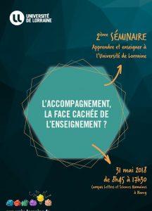 « Apprendre et enseigner à l'Université de Lorraine » : retours sur le 2ème séminaire de pédagogie universitaire
