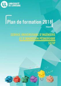 Plan de formation 2018